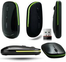 Rapoo 3500 2.4Ghz Wireless Pro Gaming Mouse Ultra Thin USB Cordless Mice Black