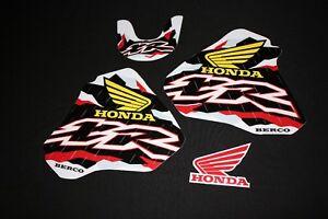 HONDA XR 250-400  1996-2006 MX RETRO GRAPHICS KIT DECALS STICKER KIT STICKERS