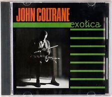 JOHN COLTRANE: Exotica DUNHILL CLASSICS JAPAN Print CD Rare '86 Jazz CD NM
