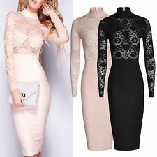 Patternless Unbranded Stretch, Bodycon Dresses for Women