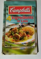 Campbell's 4 Ingredients or Less by Spiral-bound
