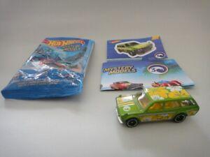 Hot Wheels - Datsun Bluebird 510 Wagon - 2018 Mystery Model Lime Green - XHTF