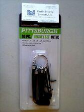 "2pcs 9//64/"" Hex Ball End Long Arm L-Wrench BriteGuard™ Chrome Bondhus USA #16908"