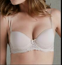 Simone Perele Eden 3D 12E343 Underwire Lined Demi Bra size 34E nude
