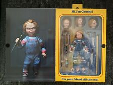 NECA Child's Play 4 inch Ultimate Chucky Action Figure, Sealed In Box, Unopened