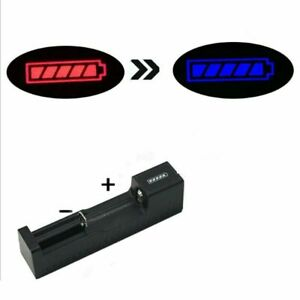 USB Charger For 10440 14500 18650 26650 3.7V-4.2V Rechargeable Li-Ion Battery