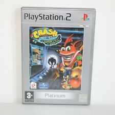 CRASH BANDICOOT THE WRATH OF CORTEX - SONY PLAYSTATION 2 PS2 GAME - MINT