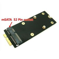 Mini SATA mSATA SSD Adapter for MacBook Pro Retina A1425 MD212 MD213 ME662
