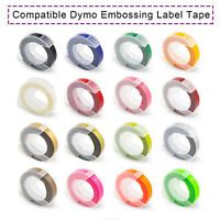 9mm 3D Embossing label Tape compatible Dymo Organizer Xpress Pro Embossed Label