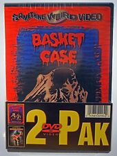 Basket Case / The Return of Swamp Thing (2-Pack DVD, 2003) - FACTORY SEALED
