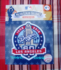 Official MLB 2018 Los Angeles Dodgers 60th Anniversary Collectible Patch