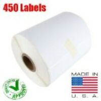 Coding Labels - 2844 ZP-450, Direct Thermal Perfect 1 Roll of 450 Labels 4x6