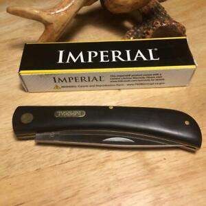 """Imperial Schrade Large Sodbuster 4 5/8"""" Pocket Knife IMP22L"""