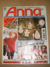 Anna Burda Ouvrages Manuels N° 12 1997 Tricot d'art Crèche Noël Déco Patrons