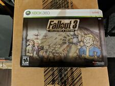 Fallout 3 Collector's Edition Lunch Box Bobblehead Xbox 360 - NEW
