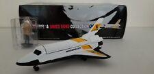 "Corgi 65401 Space Shuttle with Hugo Drax Figure, James Bond 007 ""Moonraker"" Nib"
