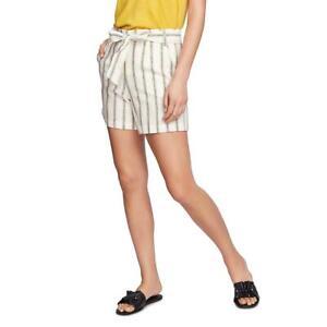 1.State Womens Cabana High Rise Striped Casual Shorts BHFO 6918