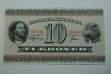 More details for 1936 denmark 10 kroner banknote