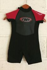 Junior Shorty Wetsuit 3-4 Year Old Child Marine 13 Wetsuit Clearance