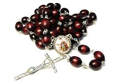 St Florian relic cherry rosary patron of Linz Austria Krakow Poland firefighters