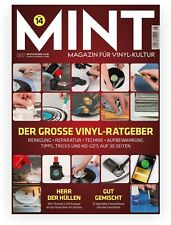 """Mint Magazin für Vinyl-Kultur Nr.14 August 2017 8/17 """"Der Grosse Vinyl-Ratgeber"""""""