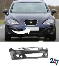 NEW SEAT LEON 2009 - 2013 FRONT BUMPER WITH FOG LIGHT HOLES