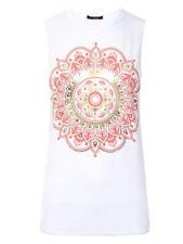 Camisas y tops de mujer blusa de color principal blanco de poliéster