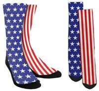 USA Socks - American Flag Socks - Fourth of July Socks - USA Gifts - A11