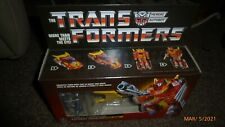 Transformers Walmart G1 Reissue Cavalier Hot Rod Rodimus Prime Figure MISB New!!