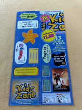 Sticker Sammelsticker Anime Stickerbogen Pokemonsticker Kids Zone Sprüche DBGT