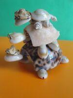 Sea Shell Seashell Turtle Pyramid Figurine Philippines