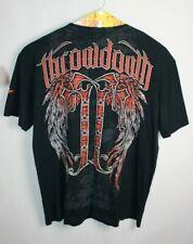Throwdown Mens Republic T-Shirt Black//Red
