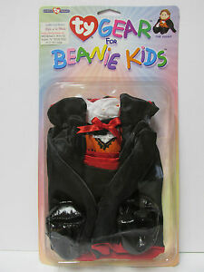 """TY Gear - """"The Count"""" Halloween Costume - Brand New in Bubble Pack * RETIRED"""