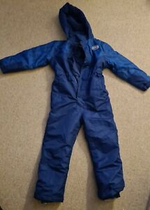 Glacier Point Blue Snowsuit Age 6-7 Years