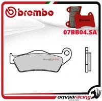 Brembo SA - pastillas freno sinterizado frente para Husqvarna TE250 4T 2010>