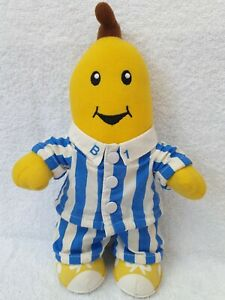 31cm 1995 B1 ABC Bananas in Pyjamas Plush Soft Toy -Kidz biz 90s vintage TOMY