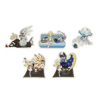 Pokémon Center Japan - Lillie & Lusamine & Gladion - Sticker 5 Set Ver.B