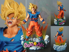Dragon Ball Z Super Master Stars Diorama SMSD Son Goku The Brush Figurine