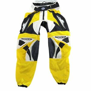 Fly Racewear Men's Comfort Riding Motorcycle Racing Pants 34x30 Yellow Black