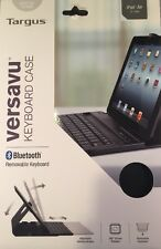 Targus Versavu Bluetooth Keyboard Case for iPad Air (5th Generation) Black