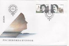 """Åland 1996 Mi.Nr. 114-115 Ersttagsbrief """"berühmte Frauen  """" ; FDC"""