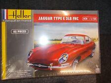 HELLER 1/24 JAGUAR TYPE E 3L8 FHC