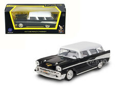 1957 CHEVROLET NOMAD BLACK 1/43 DIECAST MODEL CAR BY ROAD SIGNATURE 94203
