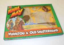 Vintage Lagerfund Big Jim OVP Winnetou & Old Shatterhand