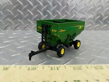 1/64 ERTL CUSTOM FARM TOY NEW DEMCO 650 GREEN CORN SOYBEAN GRAIN GRAVITY WAGON