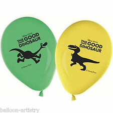 8 Disney Pixar's The Good Dinosaur Children's Party Printed Latex Balloons