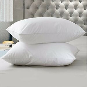 """Square Euro Continental Pillows Luxury Microfibre 65cm 26"""" Pillowcases Available"""