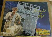 Bam Box Back To The Future Big Box Christopher Lloyd 11x14 Autograph Beckett COA