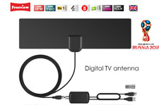 REGNO Unito TV digitale FREEVIEW Indoor Antenna DVB-T TV Con USB ripetitore di segnale/amplificatore