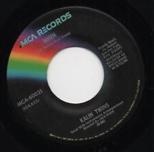"KALIN TWINS when*three o'clock thrill US MCA REISSUE 7"" 45"